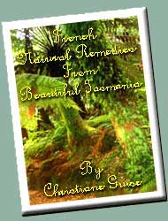 The Book French Natural Remedies from Beautiful Tasmania